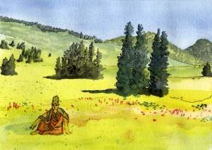 Guanyin of the meadows by Seattle Life Coach William Wittmann